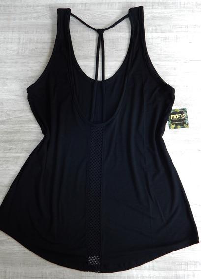 Camiseta Regata Feminina, Academia, Mullet, Comprida,tela