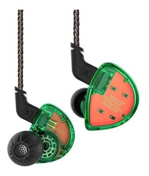 Fone In Ear Kz Es4 Retorno Monitor Palco Esportes