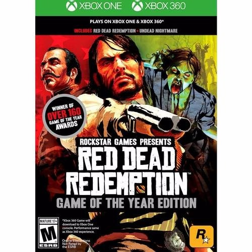 Red Dead Redemption Edição Jogo Do Ano Goty - Xbox 360 + One