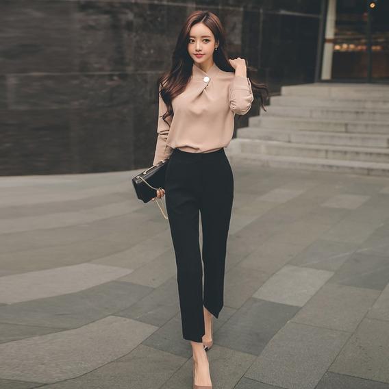 Pantalones De Tela Elegantes Para Dama Mercadolibre Com Co