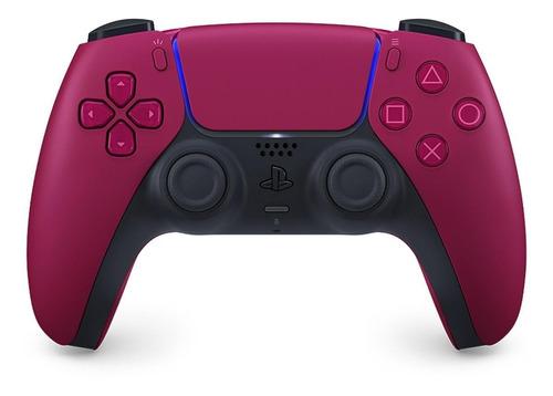 Imagen 1 de 4 de Control joystick inalámbrico Sony PlayStation DualSense CFI-ZCT1 cosmic red