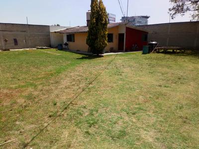 Terreno En Venta Con Casa En Toluca