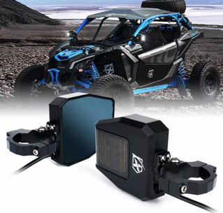 Espejos Retrovisores Con Luz Led Rzr Can-am Maverick X3