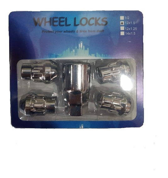 Tuerca De Seguridad 12*1.5 Wheellocks