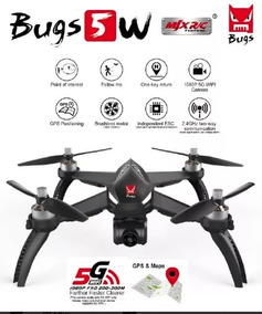 Drone Mjx Bugs 5w B5w Mjx Brushless Camera 1080p + Gps 1 Km