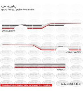 Faixa Auto Adesiva D20 1990 - Cabine Simples