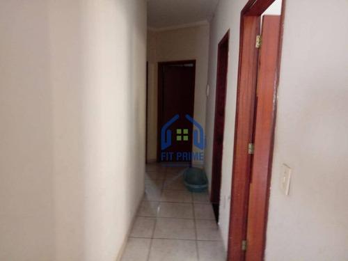 Casa Com 3 Dormitórios À Venda, 120 M² Por R$ 250.000 - Residencial Santa Ana - São José Do Rio Preto/sp - Ca1133