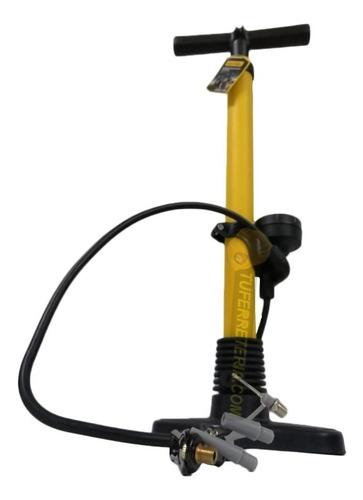 Bomba P/inflar Bicicleta Alta Presión 160psi Con Manómetro