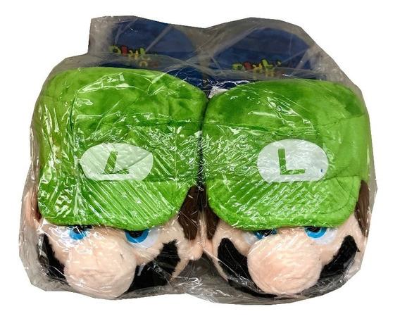 Pantuflas Luigi - Mario Bros - Nintendo