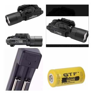 Kit Lanterna Surefire X300 Ultra 500 Lúmens P/ Trilhos 20mm