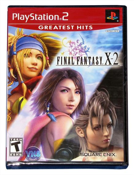 Final Fantasy X-2 - Ps2 - Americano - Original - Lacrado!!!