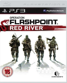 Jogo Operation Flashpoint Red River Playstation 3 Ps3 Origin