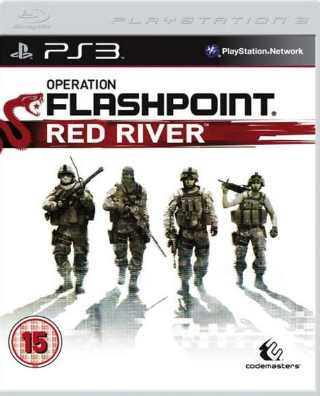 Jogo Operation Flashpoint Red River Playstation 3 Ps3 Física