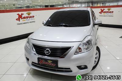Nissan Versa 1.6 Sl 2013 Prata Financiamento Próprio 8928