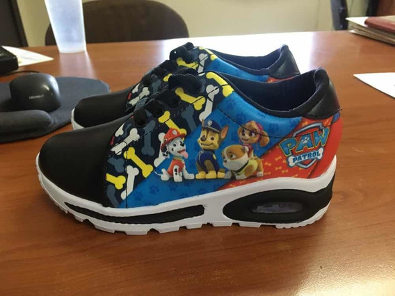 Zapatos Paw Patrol Con Luces Colombianos