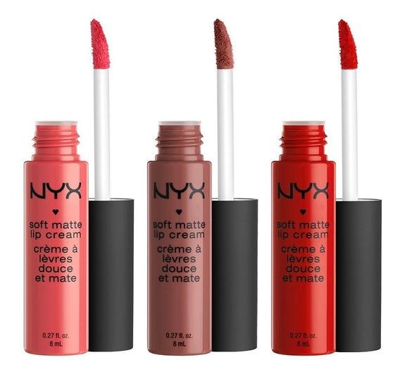 Matte Lipstick Nyx Labial Soft Matte Lip Cream Nuevos Tonos