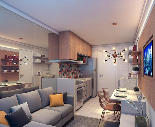 Apartamento Com 1 Dormitório Capão Redondo