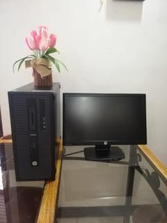 Computadora Hp 800 G1 Completa De Escritorio
