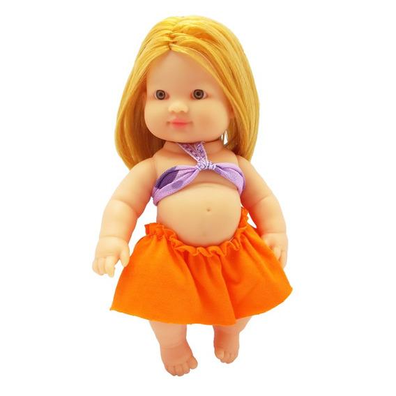 Boneca Menina Fashion Branca Zap - 1024