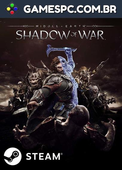 Middle-earth: Shadow Of War - Pc Key Steam Original