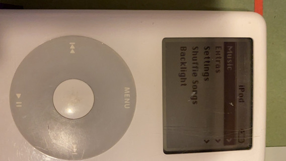 iPod 20gb Branco 4a Geracao