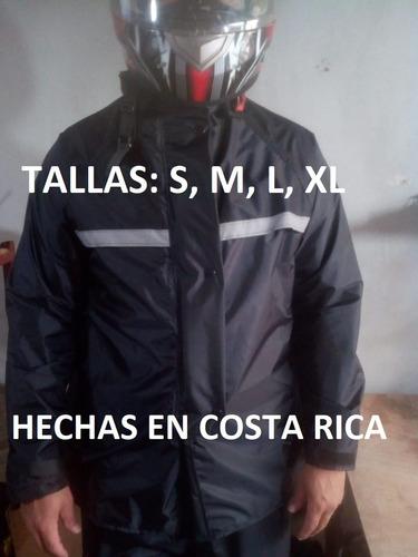 Capa Negra Impermeable Kamelia Moto Scooter Cuadra Hechas Cr