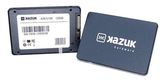 Ssd Kazuk S100 2.5 120gb Sata3 Notebook Pc - 3 Anos Garantia