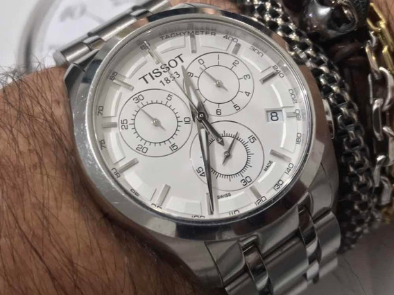 Tissot 1853 Chronograph T035617a Wr100m Quartz Swiss Made