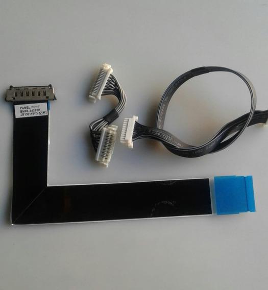 Kit De Cabos Samsung Un40f6100ag Semi Novo