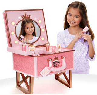 Tocador Con Espejo Disney Princesa Barbie Coleccionable Xtrc