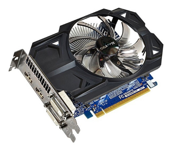 Placa De Vídeo Geforce Gigabyte Gtx 750ti - 2gb + Adap. Vga