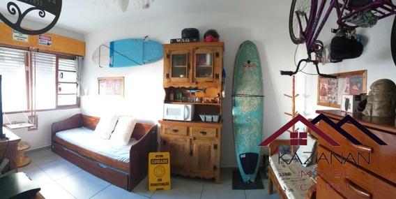 Temporada Apartamento Mobiliado Porteira Fechada Praia Do Embaré Santos Sp - 4048