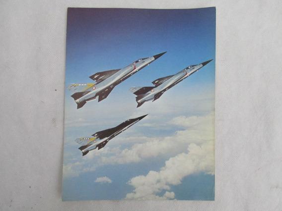 Antigua Foto Publicitaria Esp Tecnic Avion Mirage F1 #l