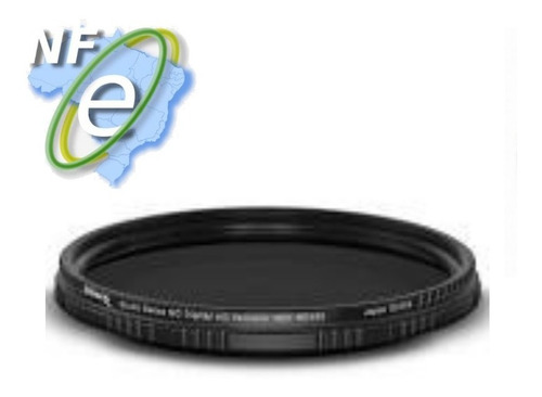 Imagem 1 de 3 de Filtro Nd Variável Nd2 A Nd400 95mm Densidade Neutra + Case