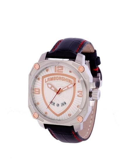 Relógio Masculino Lamborghini Lb90018252m Countach Original