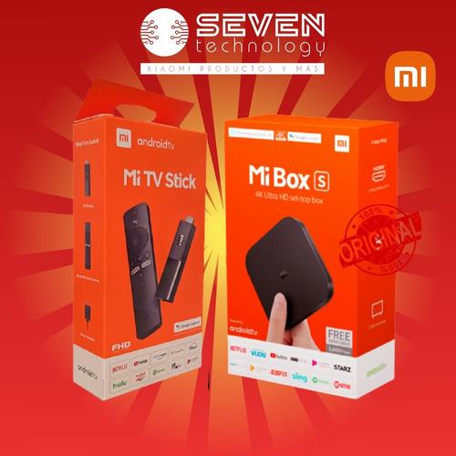 Tv Box Xiaomi + Estuche + 1 Mes Magistv  Seven Technology