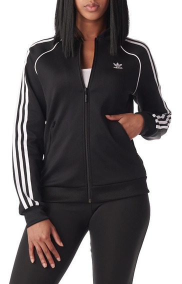 Campera adidas Sst Track Jacket (original) Mujer Ce2392 In