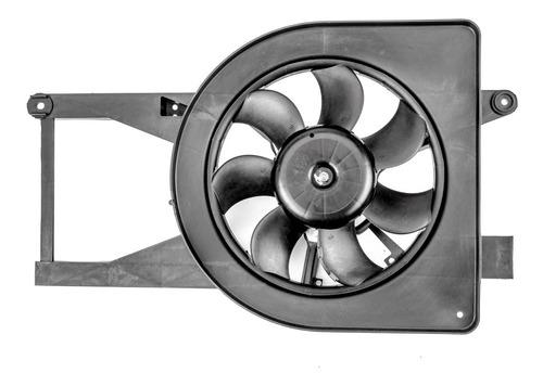 Imagen 1 de 6 de Motor Y Ventilador Con Deflector Del Sistema De Enfriamiento