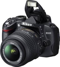 Camera Fotografica Nikon D3000 + Lente 18-200+ Lente 18-55