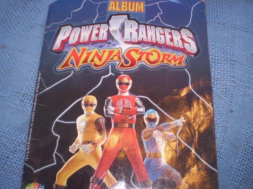 Imagen 1 de 4 de Album Salo Power Rangers  Ninja Storm (903