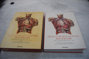 Atlas Of Human Anatomy And Surgery Taschen Xxl 39x28x6cm
