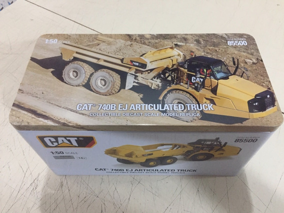 Diecast Masters 85500 1/50 Caterpillar 740b Ej Articulated