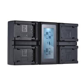 Andoer Np Fz100 - Carregador Bateria Câmera Digital Lcd 4 Ca