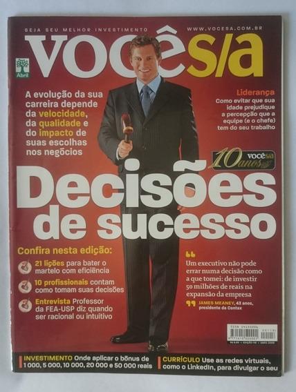 Revista Você S/a 118 - Abril De 2008