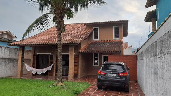 Casa Em Peruíbe - Jd. Ribamar - 3 Quadras Da Praia