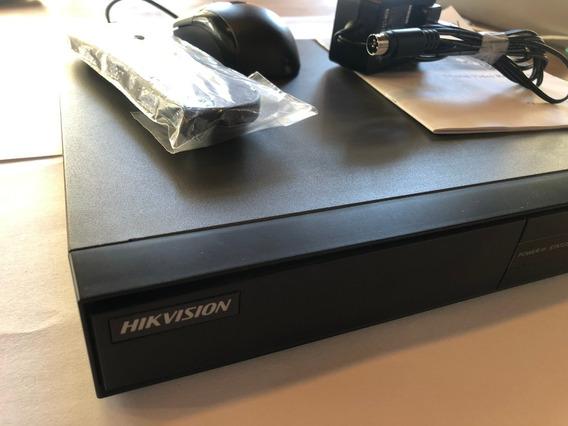 Hikvision Dvr 7204hqhi-f1 + 2 Camaras