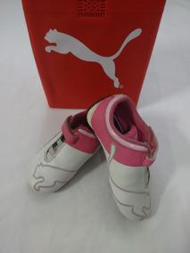 Tênis Puma Rosa - Tamanho 21