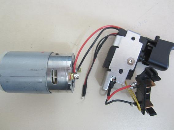Chave Interruptor + Motor Conj. Dcd710 Dcd700 - N382748