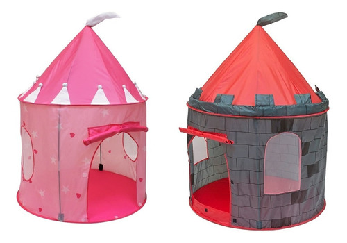 Carpa Infantil En Forma De Castillo Importada Niñas Y Niños