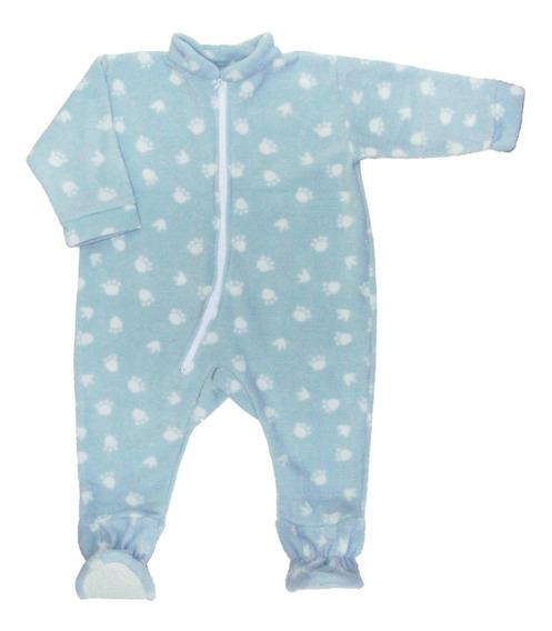 Dormilón De Micro -polar 3 Años- Pijama Con Pies Antidesliza